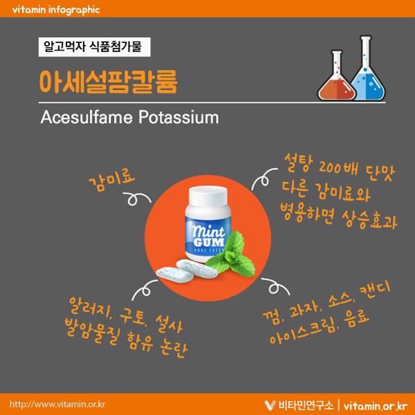아세설팜칼륨(Acesulfame Potassium)